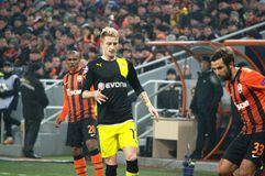 Marko Reus and Srna in action Royalty Free Stock Photography