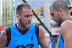 Marko Zdero - basquetebol 3x3 Imagens de Stock