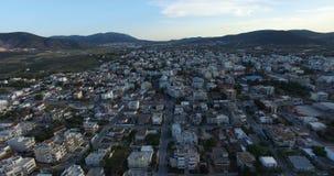 Markopoulo镇在雅典 股票视频