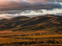 Markotkhsky Ridge Fotos de archivo libres de regalías