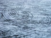 Free Marks On The Ice Stock Photos - 7703893