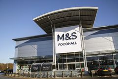 Marks and Spencer Foodhall Royalty Free Stock Image