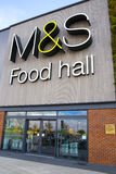 Marks and spencer foodstall Royalty Free Stock Photography
