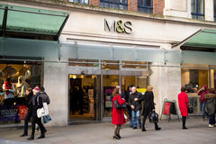Marks and spencers Royalty Free Stock Images
