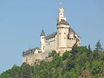 Marksburg城堡 免版税图库摄影