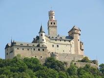 Marksburg城堡 免版税库存图片