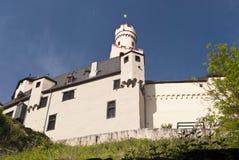 Marksburg Castle at the River Rhine Stock Photos