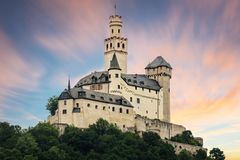 The Marksburg Castle Stock Photography