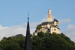 Marksburg Schloss Lizenzfreies Stockbild