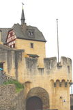 Marksburg Schloss Stockfotografie
