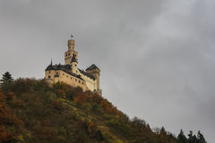 Marksburg Schloss, Deutschland Stockbilder