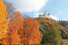 Marksburg slott Arkivbild
