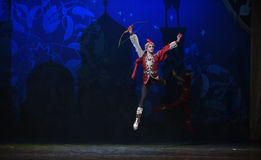 "Marksman- ballet ""One Thousand and One Nights"" Royalty Free Stock Image"
