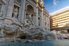 Markstein-Brunnen Architectu Roms, Italien Fontana de Trevi Famous lizenzfreies stockfoto
