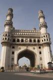 Markstein Charminar Hyderabad Stockbilder