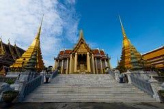 Markstein des meisten berühmten Bangkoks, Thailand - Wat Phra Keaw stockfotografie