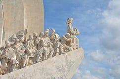 Markstein Padrao DOS Descobrimentos in Lissabon Lizenzfreies Stockfoto