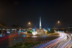 Markstein in Thailand Lizenzfreies Stockbild
