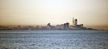 Markstein von Batumi in Georgia Stockfotografie
