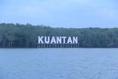 Markstein von Kuantan Stockfoto