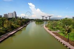 Markstein von Singapur Lizenzfreie Stockbilder