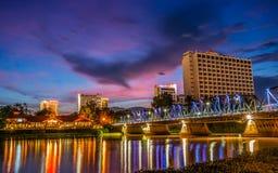 Markstein von Thailand Stockbild