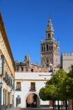 Marksteine von Sevilla Stockbilder