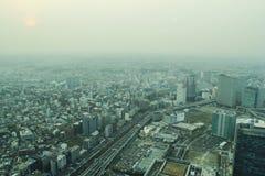 Marksteinturm, Yokohama Japan, Minato Mirai Lizenzfreies Stockfoto