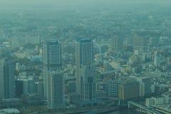 Marksteinturm, Yokohama Japan, Minato Mirai Stockbild