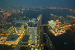 Marksteinturm, Yokohama Japan, Minato Mirai Lizenzfreie Stockfotografie