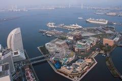 Marksteinturm, Yokohama Japan, Minato Mirai Stockfotos