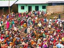 Markt in Äthiopien Stockbild