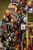 Markt 1 van de nacht stock afbeelding