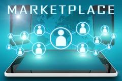 markt vector illustratie