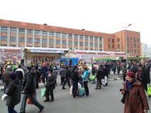 Am Markt Stockfoto