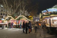 Χριστούγεννα markt στο Αννόβερο Στοκ Φωτογραφία