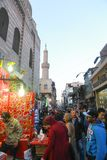 Markt in altem Kairo Lizenzfreie Stockfotografie