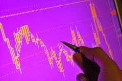 Markt analysieren Lizenzfreies Stockbild