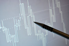 Markt analysieren Stockbilder