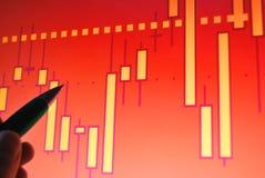Markt analysieren Lizenzfreie Stockfotos