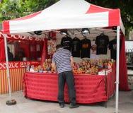 Markt auf dem Hayes Stockfotos