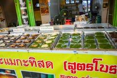 Markt in ayutthaya, Thailand stock fotografie