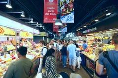 Markt in Barcelona Stockfoto