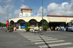 Markt Ben-Thanh, Ho Chi Minh Stadt, Vietnam Stockfoto