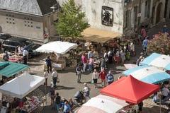 Markt in Blois Frankreich Lizenzfreie Stockfotografie