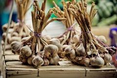 Markt in Brittany France stock foto's