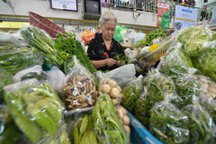 Markt, Chiang Mai, Thailand Royalty-vrije Stock Foto's