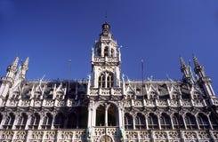 Markt de Grote em Bruxelas imagens de stock