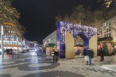 Markt de la Navidad en Hannover Fotografía de archivo