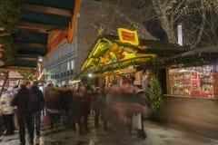 Markt de la Navidad en Hannover Imágenes de archivo libres de regalías